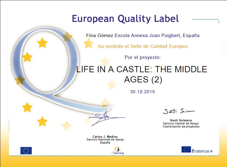 Fina Life in a Castle European label