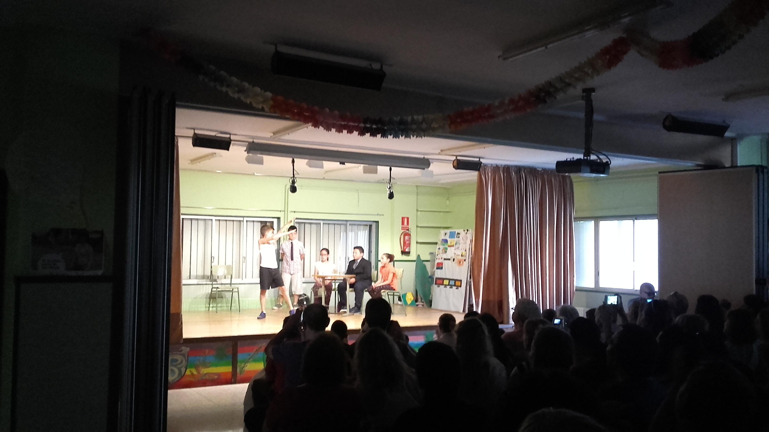 Esquetxos teatrals sobre Billy Elliot (10)