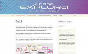 Espai web ExploraNano