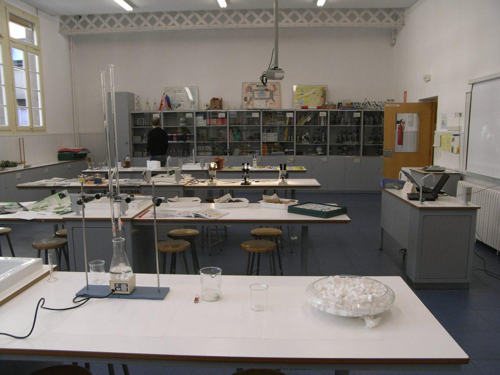 El laboratori actual