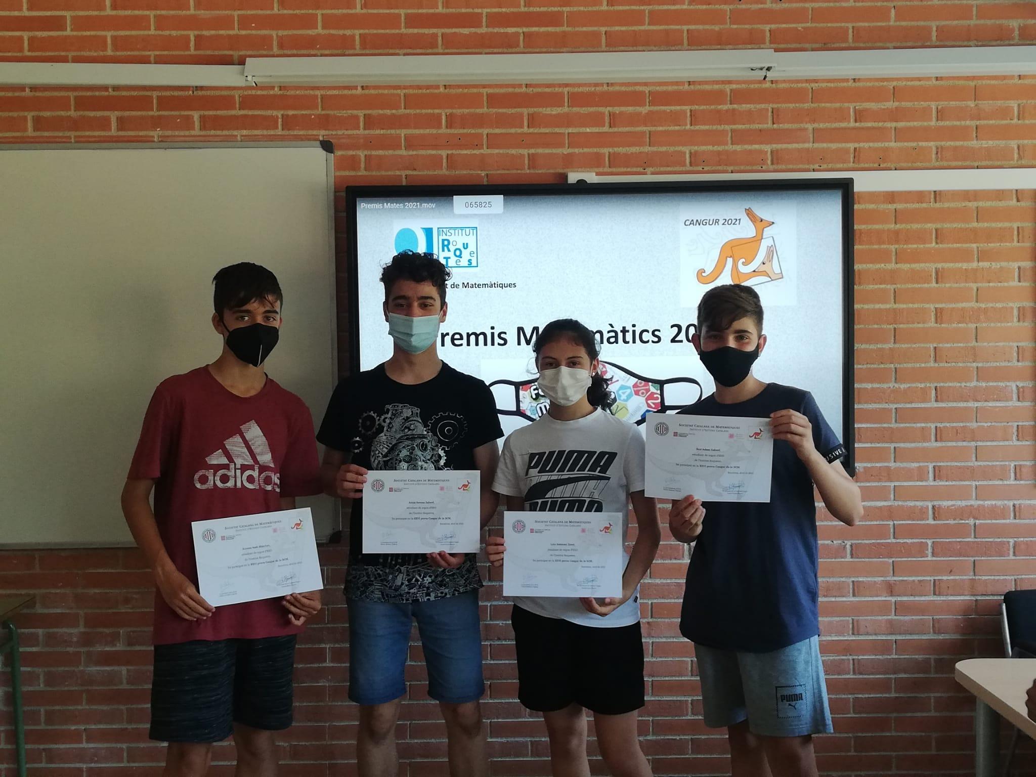 Participants Prova Cangur 2n ESO C