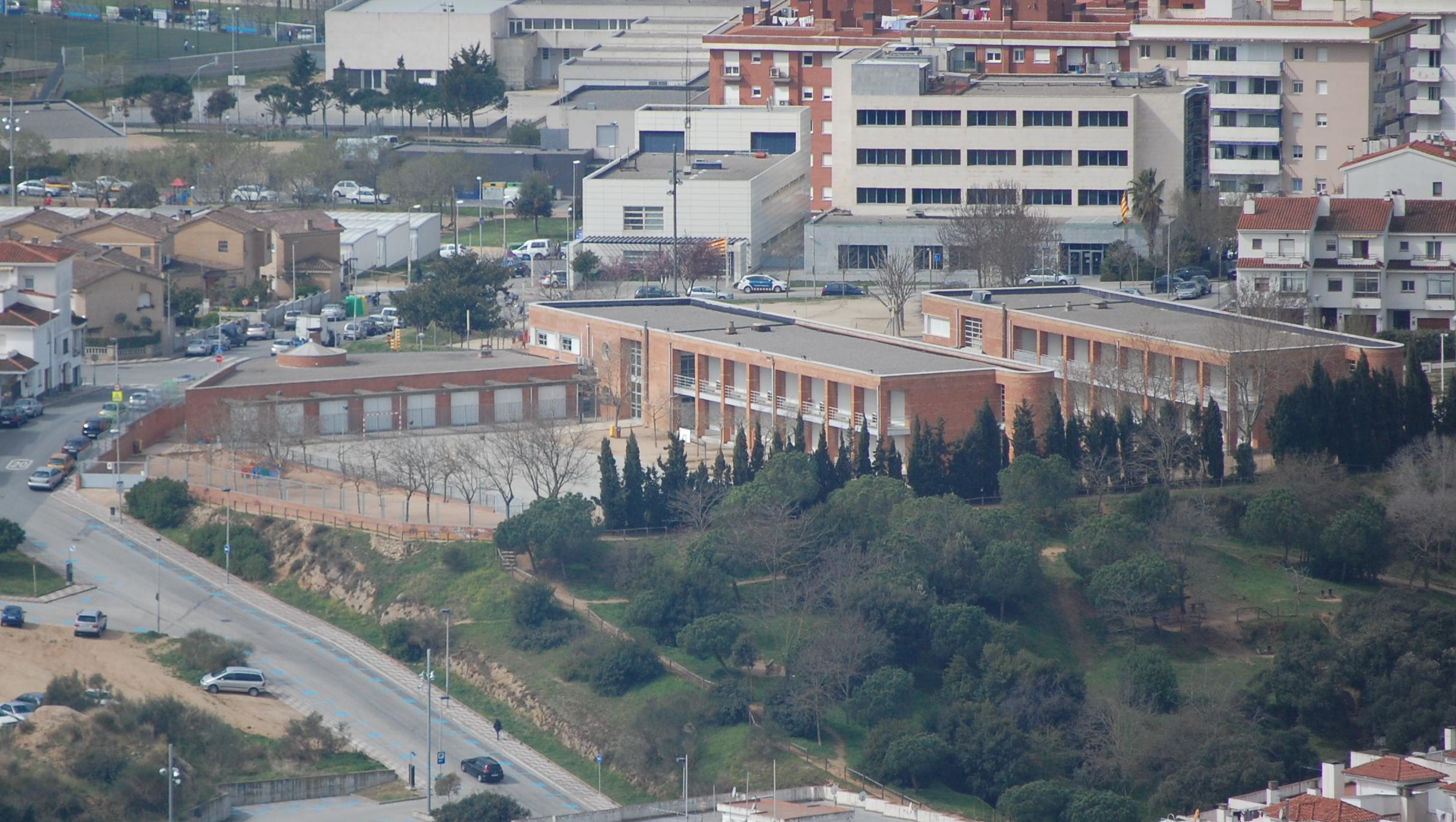 Escola desde Sant Joan