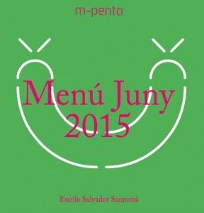 menú juny