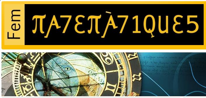 Classificades Fem Matemàtiques de l'IES Poeta Maragall