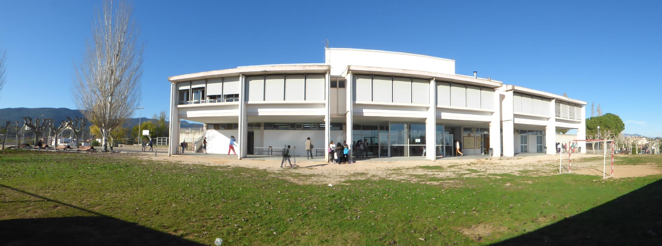 Vista exterior del centre