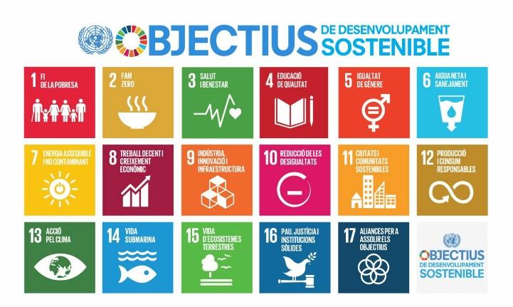 objectius desenvolupament sostenible